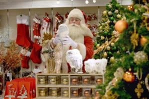Really, now?! Selfridges opens Christmas shop with 143 days still to go